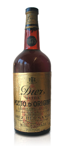 1875 DIEZ HERMANOS ULTRA PORTO d`ORIGINE, * WINESCOUT7 *, PORTUGAL