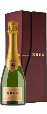 "KRUG "" GRANDE CUVEE "" Champagner ( 0.375 L ) in Geschenkpackung * WINESCOUT7 *"