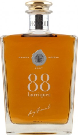"LUIGI FRANCOLI,"" GRAPPA 88 Barrique in Holzkiste "", 0.7.L., *WINESCOUT7*,ITALIEN-PIEMONT"
