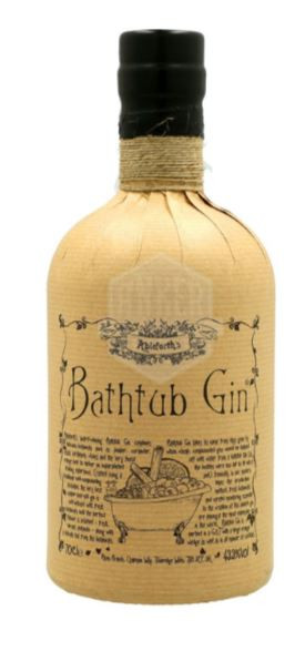 """ABLEFORTH`S """" BATHTUB GIN """", 0.7 L.*WINESCOUT7*. GBR."""