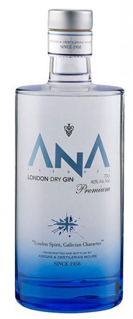 """ ANA LONDON DRY PREMIUM GIN "", 0.75 L.,*WINESCOUT7*, SPANIEN-RIBERA-SACRA"
