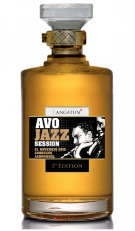 "LANGATUN "" AVO JAZZ SESSION  WHISKY "", 0.5 L.*WINESCOUT7*, SCHWEIZ"