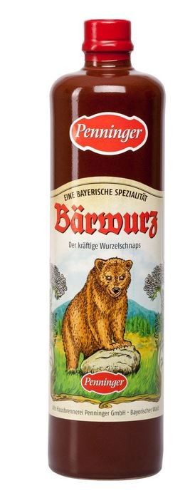 BÄRWURZ TRADITIONELL 40 % ;  0.7 L.,*WINESCOUT7*, DE.- Bayern