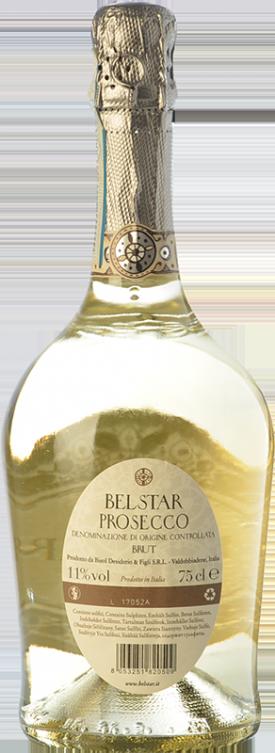 "BELSTAR "" PROSECCO DOC. "",0.75 L.*WINESCOUT7*, IT. - VENETIEN"