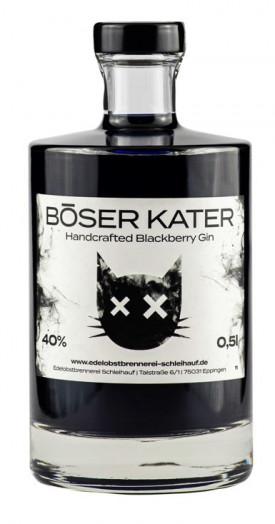 "BÖSER KATER "" BLACKBERRY GIN "", 0.5 L.,*WINESCOUT7"", DE."