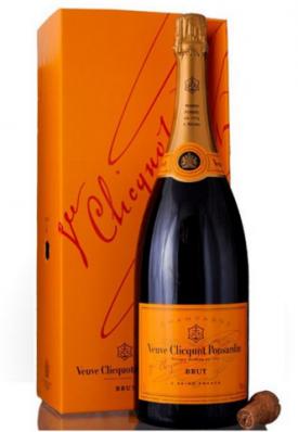 "Veuve Clicquot Ponsardin "" BRUT MAGNUM ""  1.5 L. Champagner in Geschenkpackung, * WINESCOUT7 *. Frankreich"