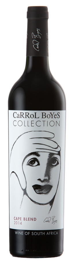"CARROL BOYES "" COLLECTION  CAPE BLEND 2015 "", 0.75 L., *WINESCOUT7*, SAUTH AFRICA - WESTERN CAPE"