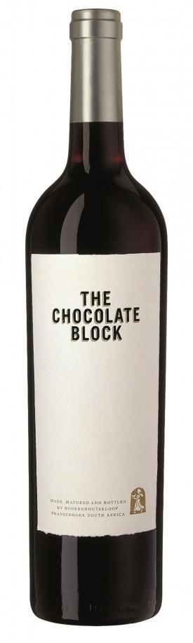 THE CHOCOLATE BLOCK ,0.75 L.,WINESCOUT7,SUEDAFRIKA-FRANSCHOEK