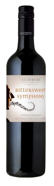 """CLAYMORE """" BITTERSWEET SYMPHONY  2017 """", 0.75 L,*WINESCOUT/*, AUSTRALIEN - CLARE VALLEY"""