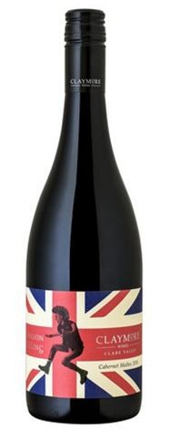 """CLAYMORE """" LONDON CALLING """", 0.75 L.,*WINESCOUT7*, AUSTRALIEN - CLARE VALLEY"""