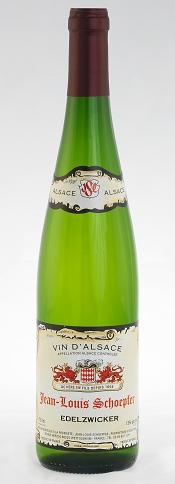 """JEAN - LOUIS SCHOEPFER """" EDELZWICKER """", 0.75 L., * WINESCOUT7 *, FRANKREICH- ALSACE"""