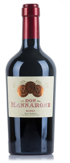 """ DON MANNARONE ROSSO TERRE SICILIANE IGT 2018 "". 0.75 L. *WINESCOUT7*, IT-SIZILIEN"