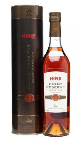 """ HINE CIGAR RESERVE "" IN GESCHENK-BOX, 0.70 L. *WINESCOUT7*, FR-COGNAC"
