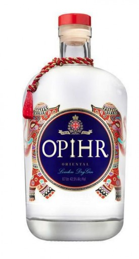 OPHIR ORTIENTAL LONDON DRY GIN, 0.70 L.*WINESCOUT7*, GB