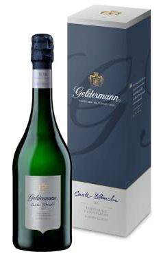 "GELDERMANN""  SEKT CARTE BLANCHE "" 0.75 L.*WINESCOUT7*, DE.- BADEN"