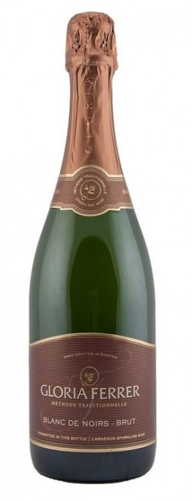 "GLORIA FERRER "" CANEROS LOT 515 -  BLANC DE NOIRS "", 0.75 L.*WINESCOUT7*,USA-SONOMA-COAST"