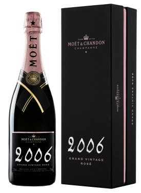 Moet & Chandon GRAND VINTAGE ROSE 2006 in Geschenkpackung * WINESCOUT * FR-Champagne