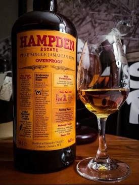 """HAMDEN """" OVERPROOF - PURE SINGLE JAMAICAN RUM """", 0.70 L. *WINESCOUT7 *, JAMAICA"""