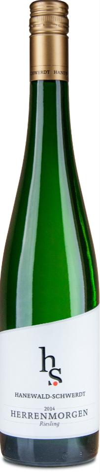 """HANEWALD-SCHWERDT """" HERRENMORGEN RIESLING 2015 """", 0.75 L.,* WINESCOUT7 *, DE-PFALZ"""