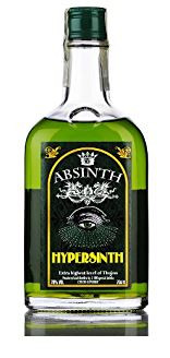 """"""" HYPERSINTH ABSINTH EXCLUSIV """". 0.7 L.,*WINESCOUT7*, CZ"""