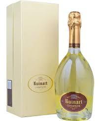 "RUINART "" BLANC DE BLANCS "" Champagner in Geschenkpackung, * WINESCOUT7 *. Frankreich"