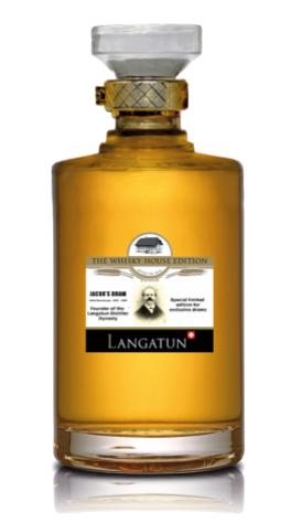 """LANGATUN """" JACOBS DRAM SINGLE MALT WHISKY """", 0.5 L.*WINESCOUT7*, SCHWEIZ"""