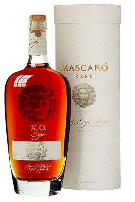 "MASCARO "" BRANDY X.O. RARE EGO "", 0.7 L.,*WINESCOUT7*. SPANIEN"