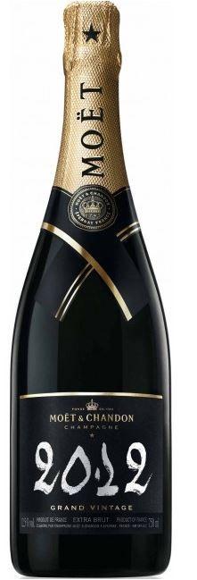 "MOET & CHANDON "" GRAND VINTAGE 2012 IN GESCHENKBOX *,0.75 L.,* WINESCOUT7 *, FR-CHAMPAGNE"