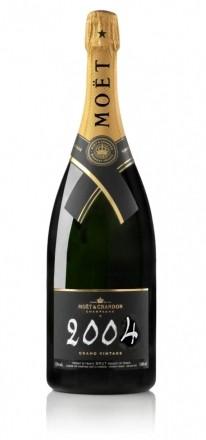 Moet & Chandon VINTAGE 2004 1.5 L. Magnum in Geschenkpackung * WINESCOUT * FR-Champagne