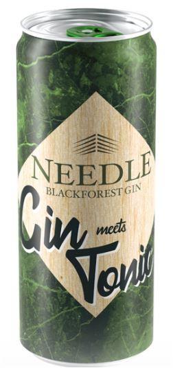 "NEEDLE BLACKFOREST "" GIN - TONIC DOSE "", 0.33 L.;*WINESCOUT7*. DE"