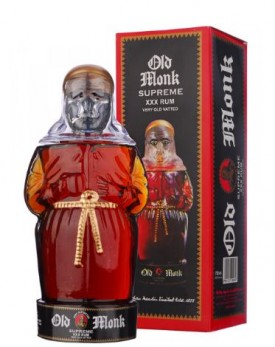 """OLD MONK """" SUPREME XXX YEARS OLD RUM """", 0.75 L *WINESCOUT7*, INDIEN"""