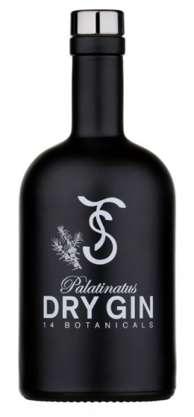 "TH.SIPPEL "" PALATINATUS DRY GIN  "" , 0.5 L.,*WINESCOUT7*, DE. PFALZ"