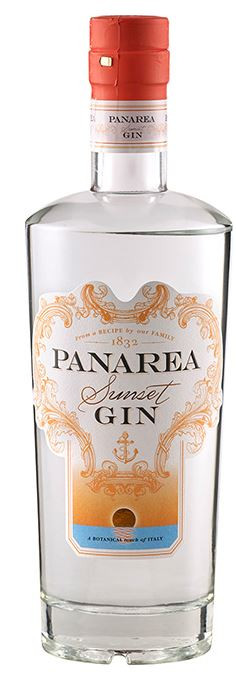 "PANAREA "" SUNSET GIN "", 0.70 L.,*WINESCOUT7*, IT- SIZILIEN"