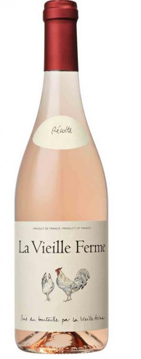 FAMILLE PERRIN * LA VIEILLE FERME ROSE 2018 *,0.75 L.,*WINESCOUT7*,FR.- ROHNE