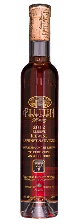 """PILLITTERI """" CABERNET SAUVIGNON ICEWINE """" 0.2 L,*WINESCOUT7*, CANADA-NIAGARA"""