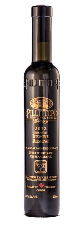 "PILLITTERI "" RIESLING RESERVE ICEWINE "" 0.2 L,*WINESCOUT7*, CANADA-NIAGARA"