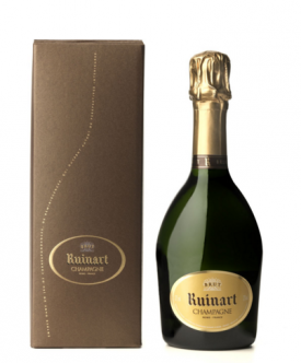 """ R "" DE RUINART "" Champagner 0.375 L. in Geschenkpackung, * WINESCOUT7 *. Frankreich"