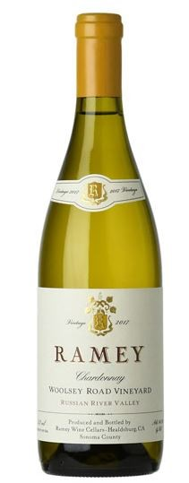 """RAMEY """" WOOLSEY ROAD RUSSIAN RIVER VLY-CHARDONNAY 2017 """",0.75 L.,*WINESCOUT7*, USA-CALIFORNIA"""