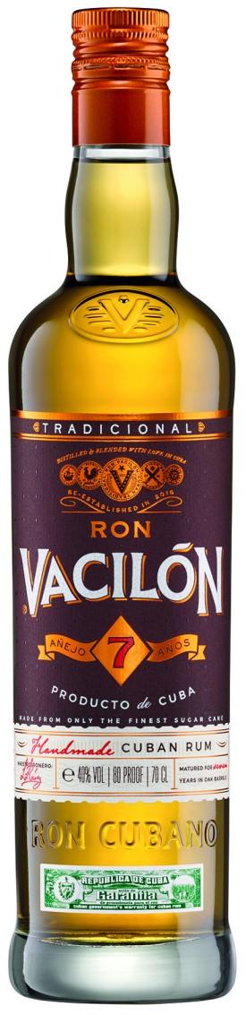 "RON "" VACILON 7 ANOS "", 0.7 L.,*WINESCOUT7*, CUBA"