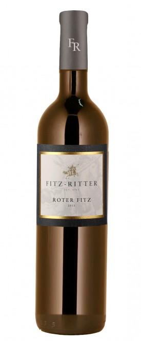 """FITZ-RITTER, BAD DÜRKHEIMER """" ROTER FITZ 2013 """", 0.7 L.,*WINESCOUT7*, DE-PFALZ"""