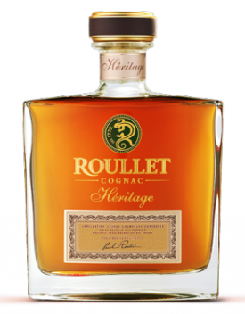 """ ROULLET HERITAGE GRANDE CHAMPAGNE COGNAC "",  23 YEARS OLD, 0.7L., * WINESCOUT7*, FR. - COGNAC"