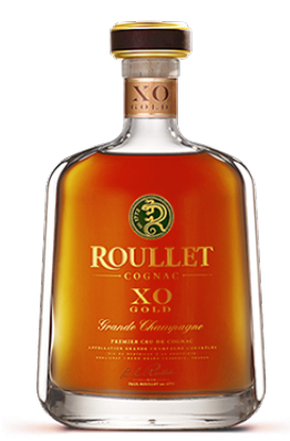""""""" ROULLET GRAND CHAMPAGNER XO GOLD COGNAC """",16 YEARS OLD, 0.7L.,* WINESCOUT7*, FR. - COGNAC"""
