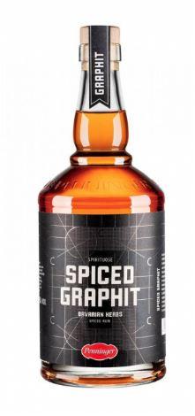 "PENNINGER ""SPICED GRAPHIT RUM "",0.7 L.*WINESCOUT7*, DE."