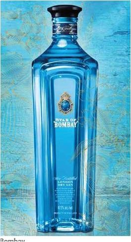 STAR OF BOMBAY LONDON DRY GIN ,0.7 L., *WINESCOUT7*, GB.