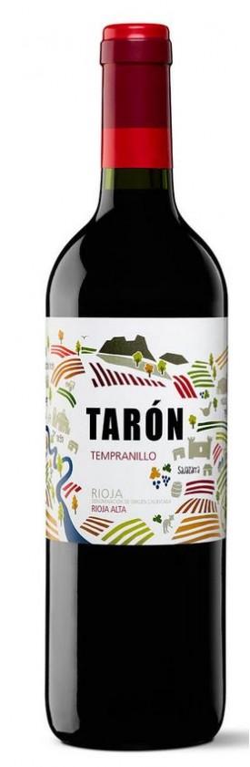 "BODEGAS TARON ""TEMPRANILLO "" 0.75 L.""WINESCOUT7*, ESP-RIOJA ALTA"