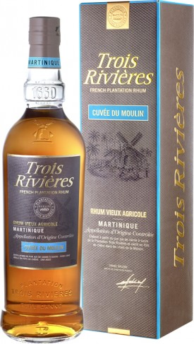 "TROIS RIVIERES "" TRIPLE MILESSIME 7 JAHRE "", IN GESCHENKVERPACKUNG, *WINESCOUT7*, MARTINIQUE"