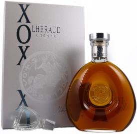 COGNAC LHÉRAUD * X.O. CARAFE CHARLES VII 40 ANS *, 0.7 L.,*WINESCOUT7*, COGNAC-FR.