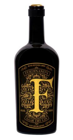 FERDINAND`S SAAR DRY GIN GOLDCAP 0.5 L.,*WINESCOUT7*, Deutschland