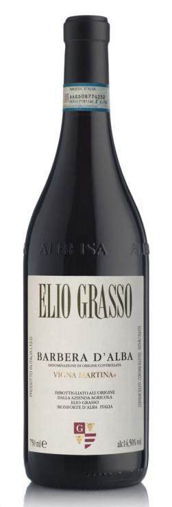 "ELIO GRASSO "" BARBERA D`ALBA-VIGNA MARTINA DOC 2017 "",0.75 L., *WINESCOUT7*, ITALIEN-PIEMONT"