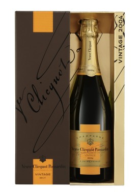 "Veuve Clicquot Ponsardin "" VINTAGE 2004 "" Champagner in Geschenkpackung, * WINESCOUT7 *. Frankreich"
